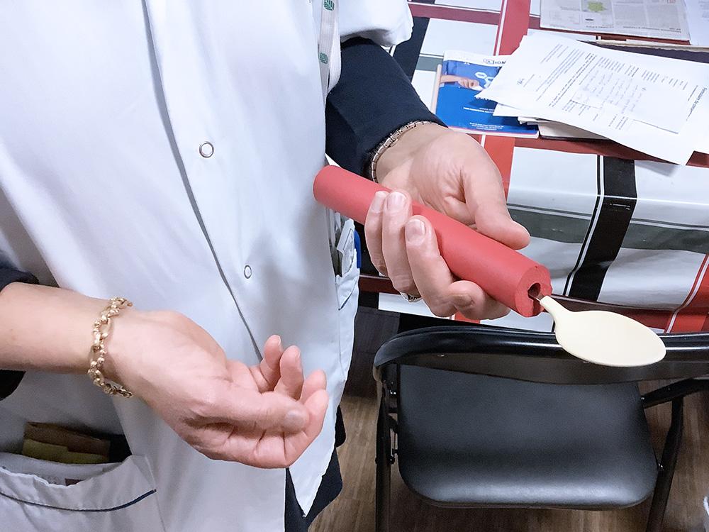 Ergothérapie cuillière