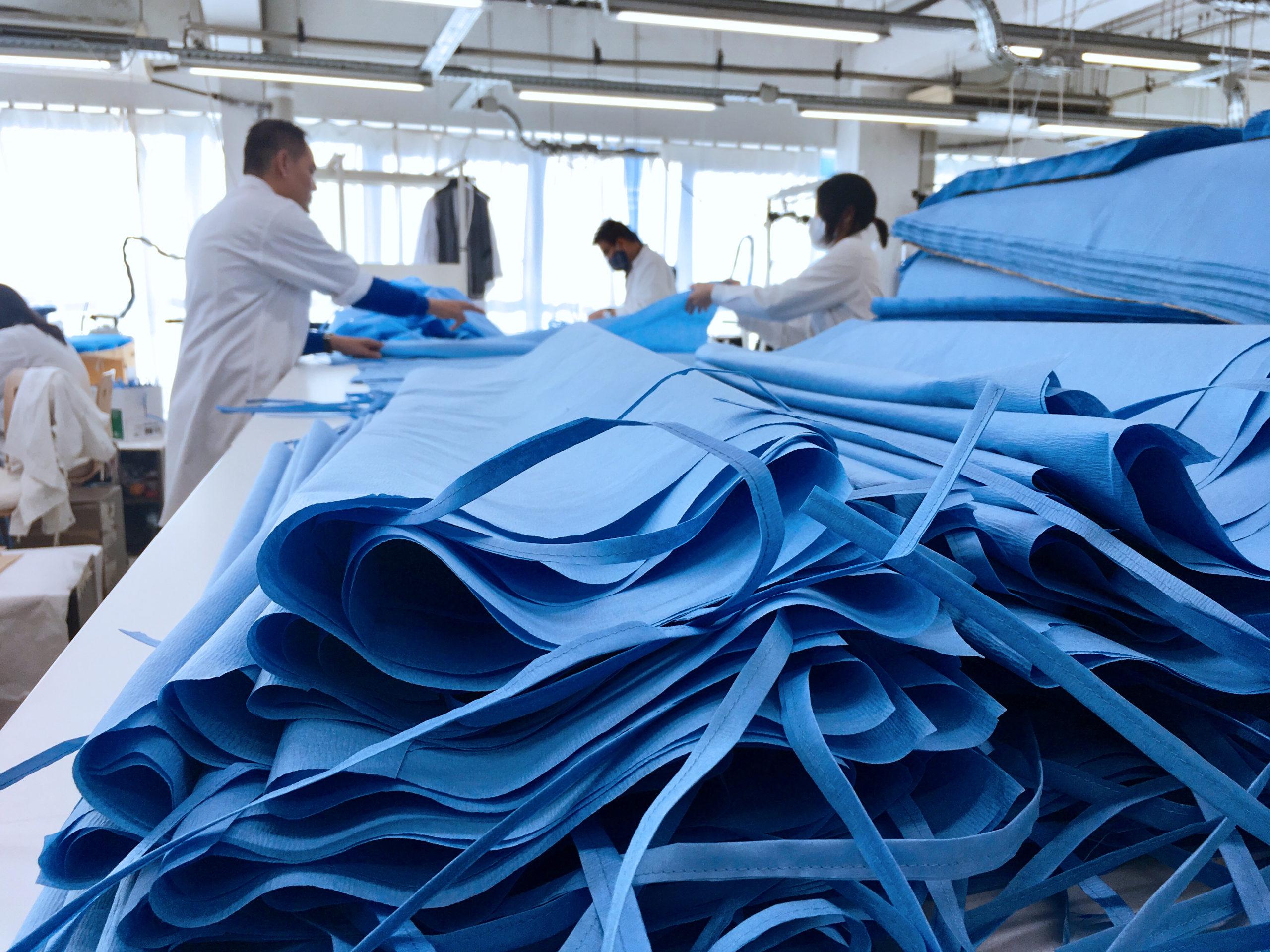 Tissu pour la création de surblouse médical